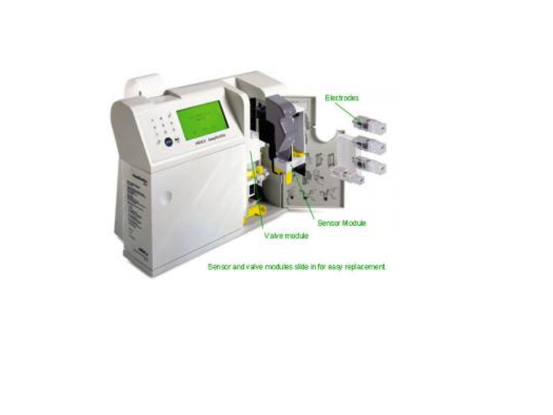 Blood Gas Analyzer Images 1 slide image